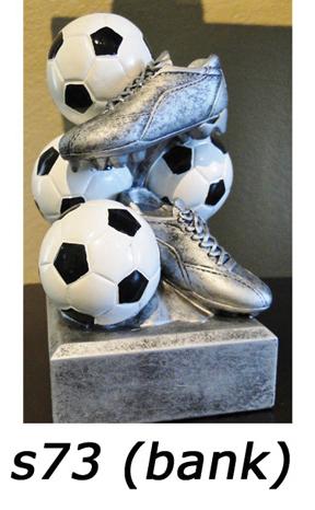 Soccer Bank Trophy – s73