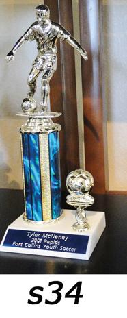 Soccer Action Trophy – s34