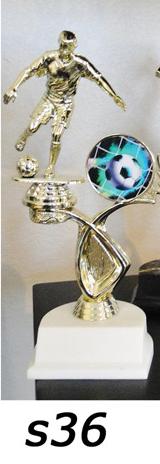 Soccer Action Trophy – s36