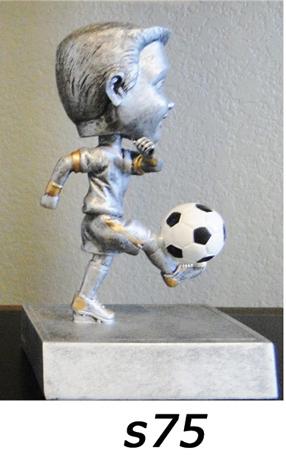 Soccer Bobblehead Trophy, Boys – s75