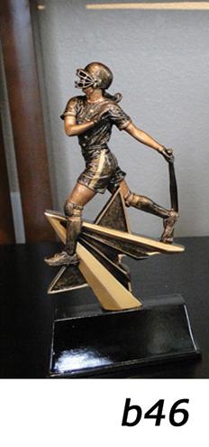 Softball Action Trophy – b46