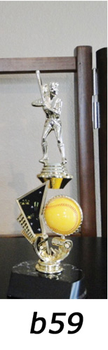 Softball Action Trophy – b59