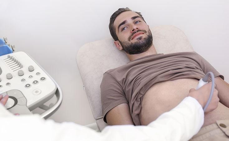 Qual a função do ultrassom do aparelho urinário?