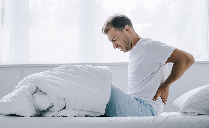 Procure saber o motivo de suas dores lombares