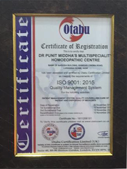 An ISO9001: 2015 Certified Centre