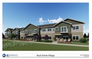 Construction for the 264-unit apartment complex, Rock Pointe Village, broke ground Aug. 12 in Lannon. Phase 1 of the complex will have 81 units and should open in April or May 2021. Phase 2, scheduled to begin construction May 1, 2021, will also have 81 units. Phase 3, scheduled to begin May 1, 2022, will feature 102 units.