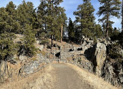 Spring Creek, Flume to Centennial Trail Black Hills Hiking