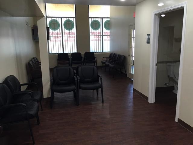 City Urgent Care Waiting Room