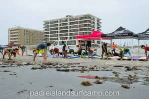 padre island texas surf camp