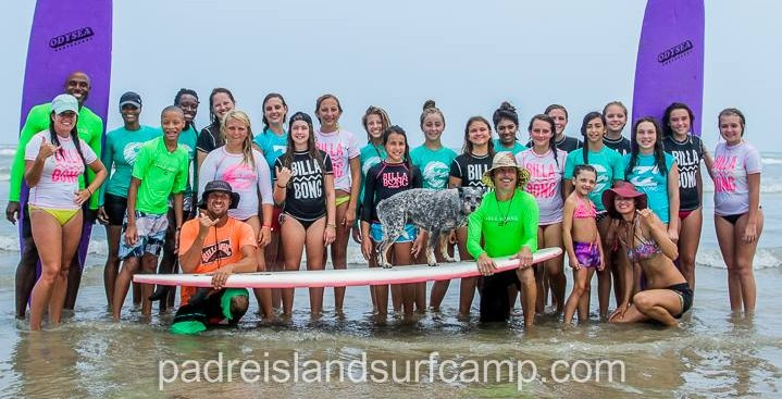girls surf camp texas