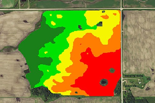 Precision Partners Map of Land