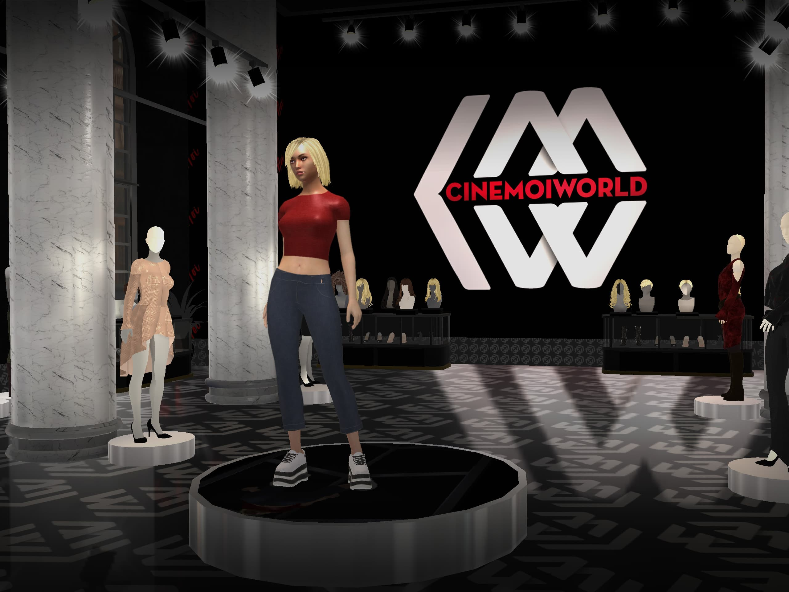 Cinemoi 3D Virtual World