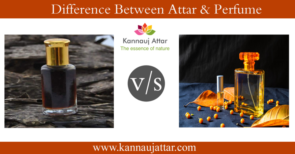 Attar Vs Perfume - How they are differnt?