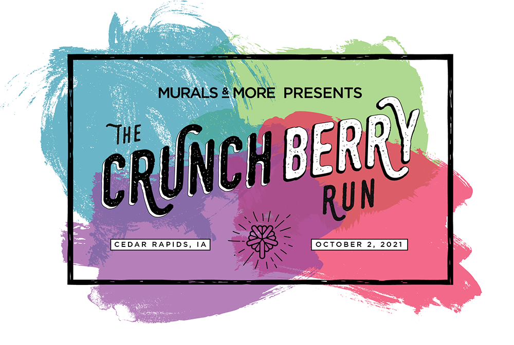 Murals & More Presents The Crunch Berry Run, Cedar Rapids, IA, October 2, 2021