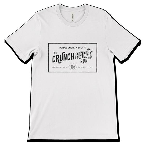 The Crunch Berry Run race t-shirt