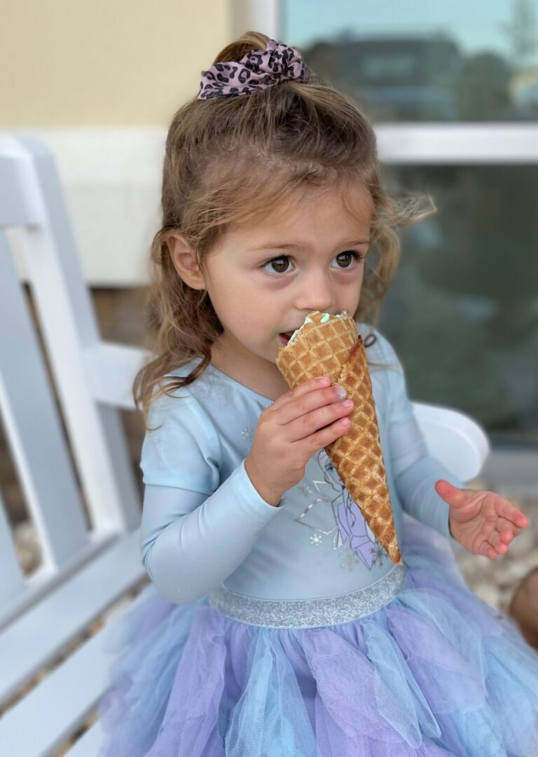 Little girl in fairy dress