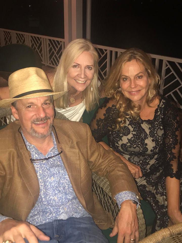 Matt Stevens, Diana Davis, and Lavinia Baker
