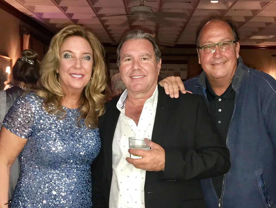 Simone & Chuck Desiderio, and Conrad Hilton