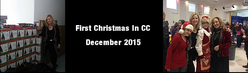 First Christmas in CC December 2015