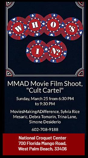 MMAD Movie Film Shoot Cult Cartel