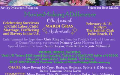 6th Annual Mardi Gras Mask-arade!