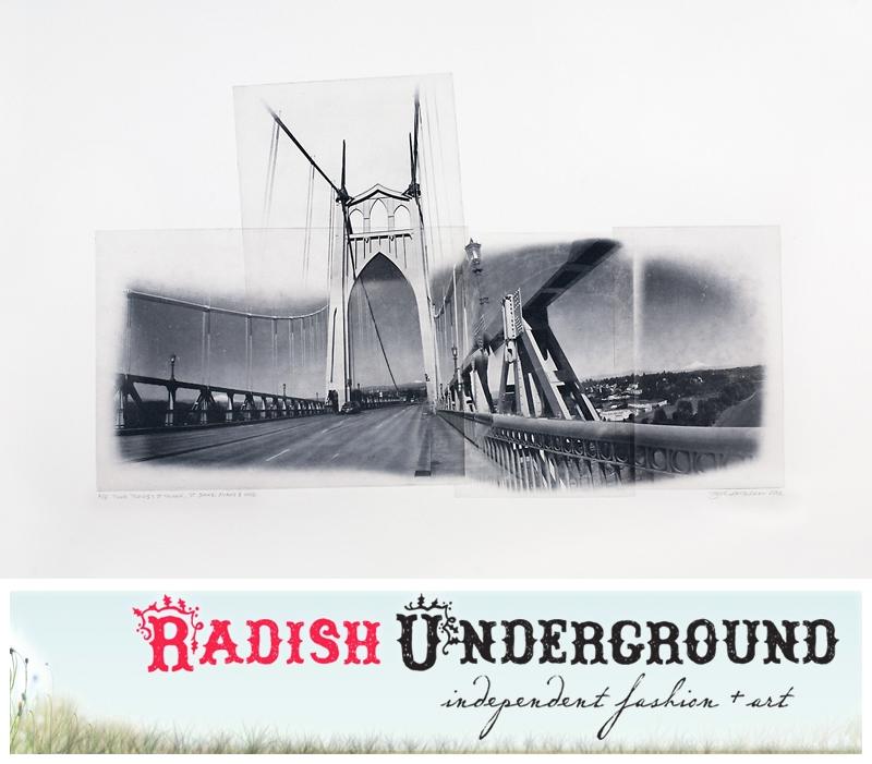 St John Bridge piece at Radish Underground