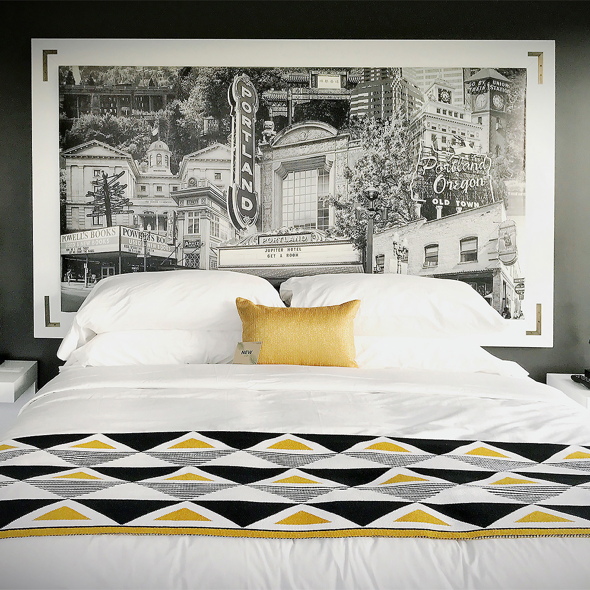 Beth Kerschen Cityscape JupiterNEXT Hotel Guest Room Art
