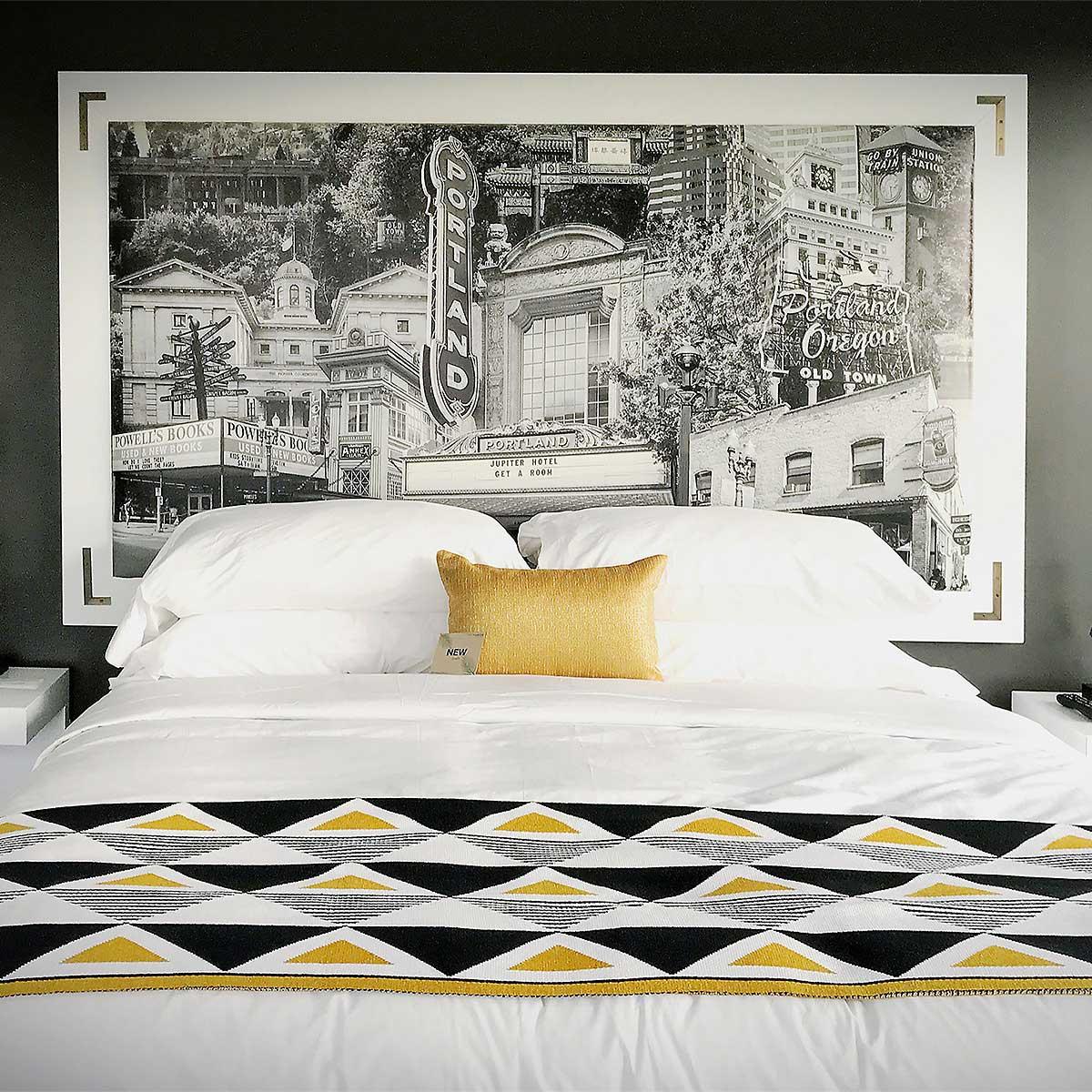 JupiterNEXT Hotel Artwork Installation