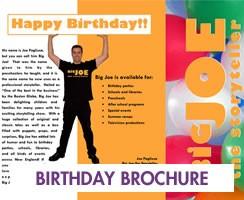Birthday Brochure