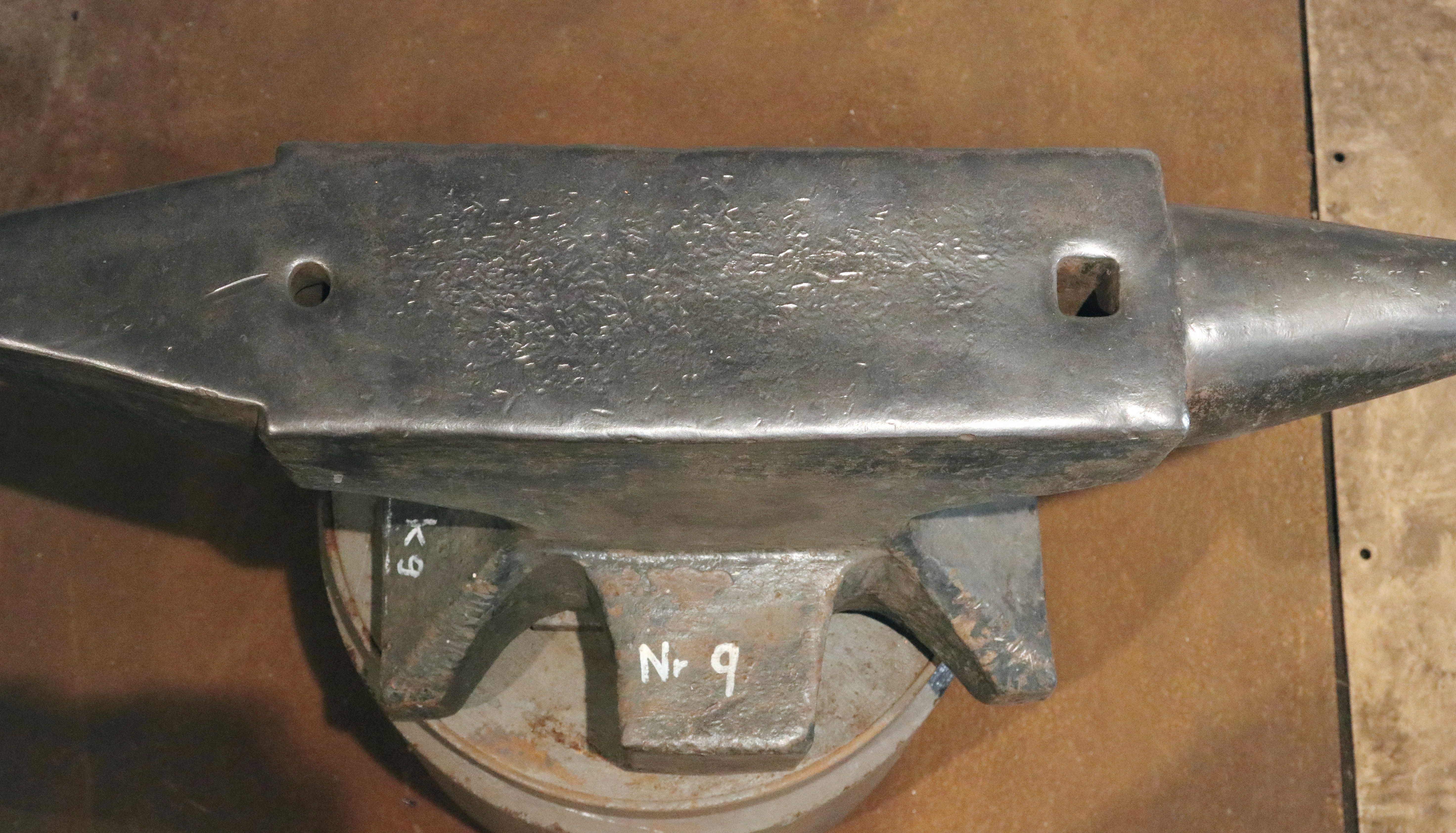 440 lb German anvil for sale - north German style double horn blacksmith anvil