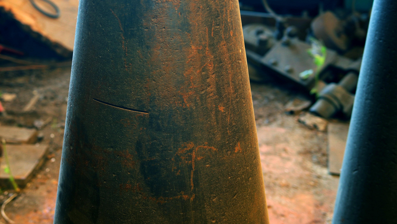 669 lb blacksmith industrial  cone anvil for sale