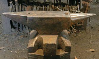 506 lb North German blacksmith anvil for sale - sold