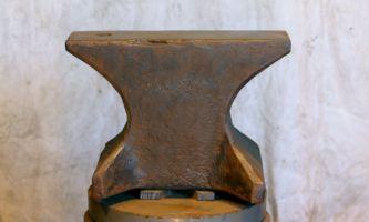 396 lb $1,200 heavy hornless German anvil