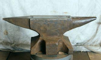 454 lb $2,200 North German double horn anvil