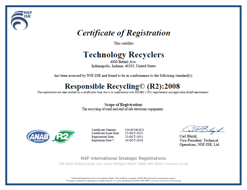 Electronics Recycling Indianapolis