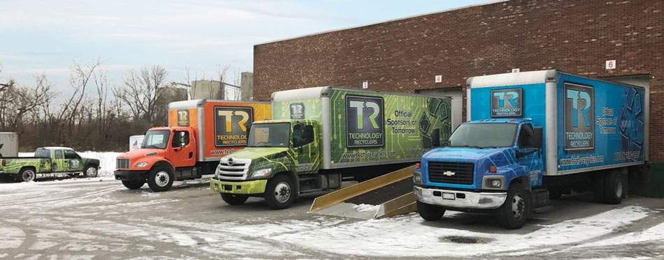 Computer electronics recycling indianapolis technology recyclers trucks