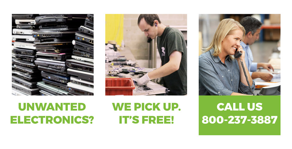 computer electronics recycling indianapolis Technology recyclers schedule pickup