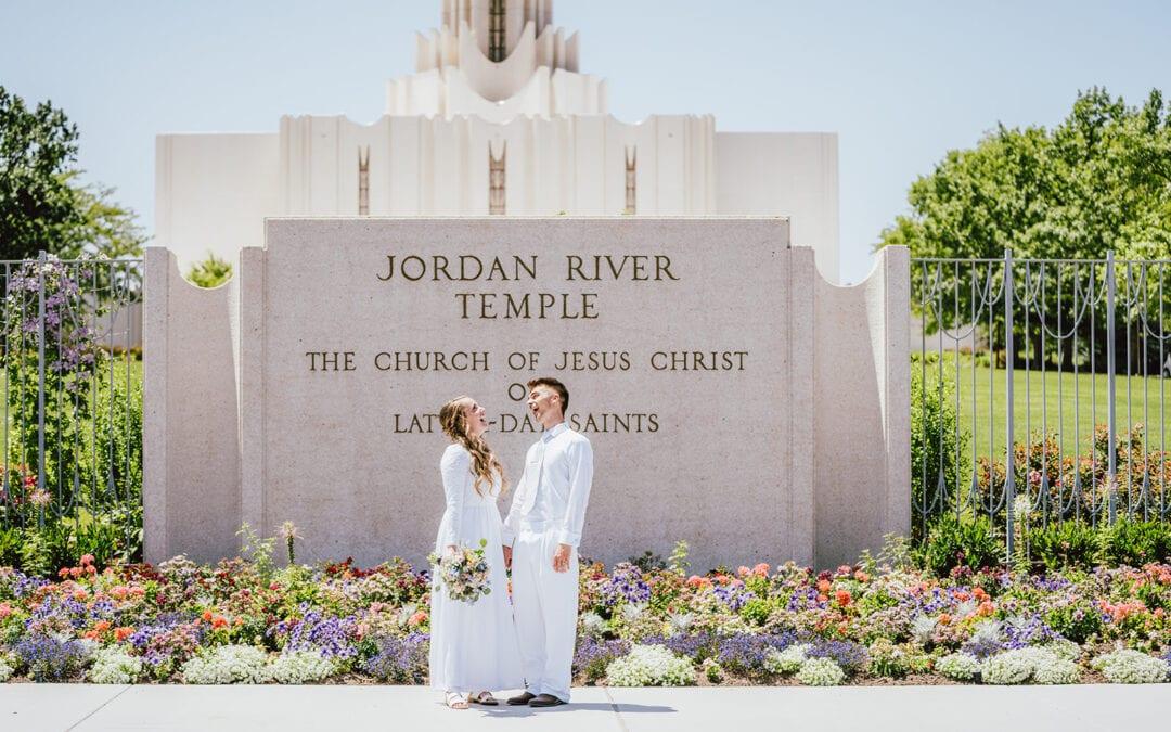 LDS Wedding Sample Timeline