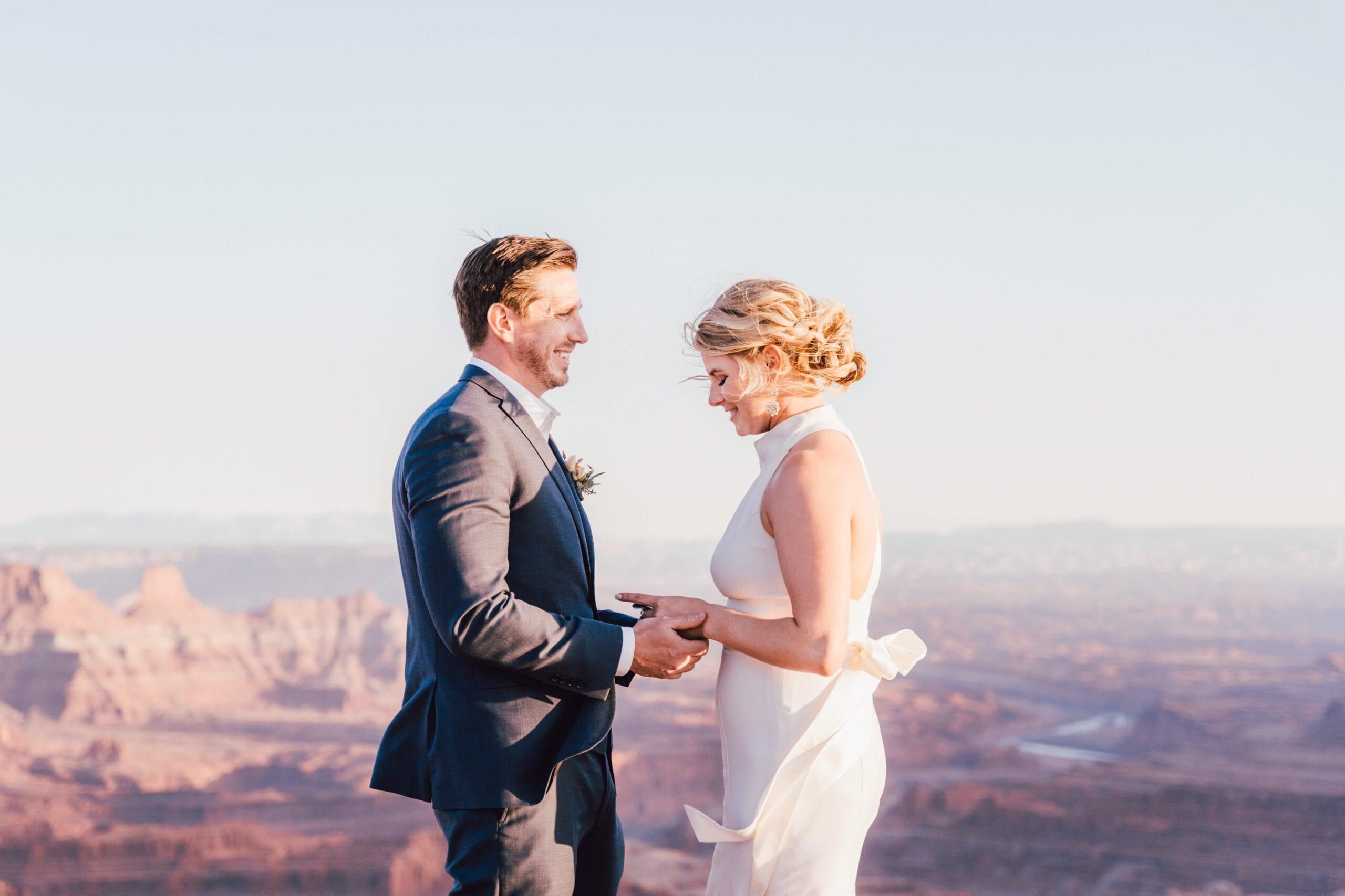 love brittny dead horse point wedding elopement