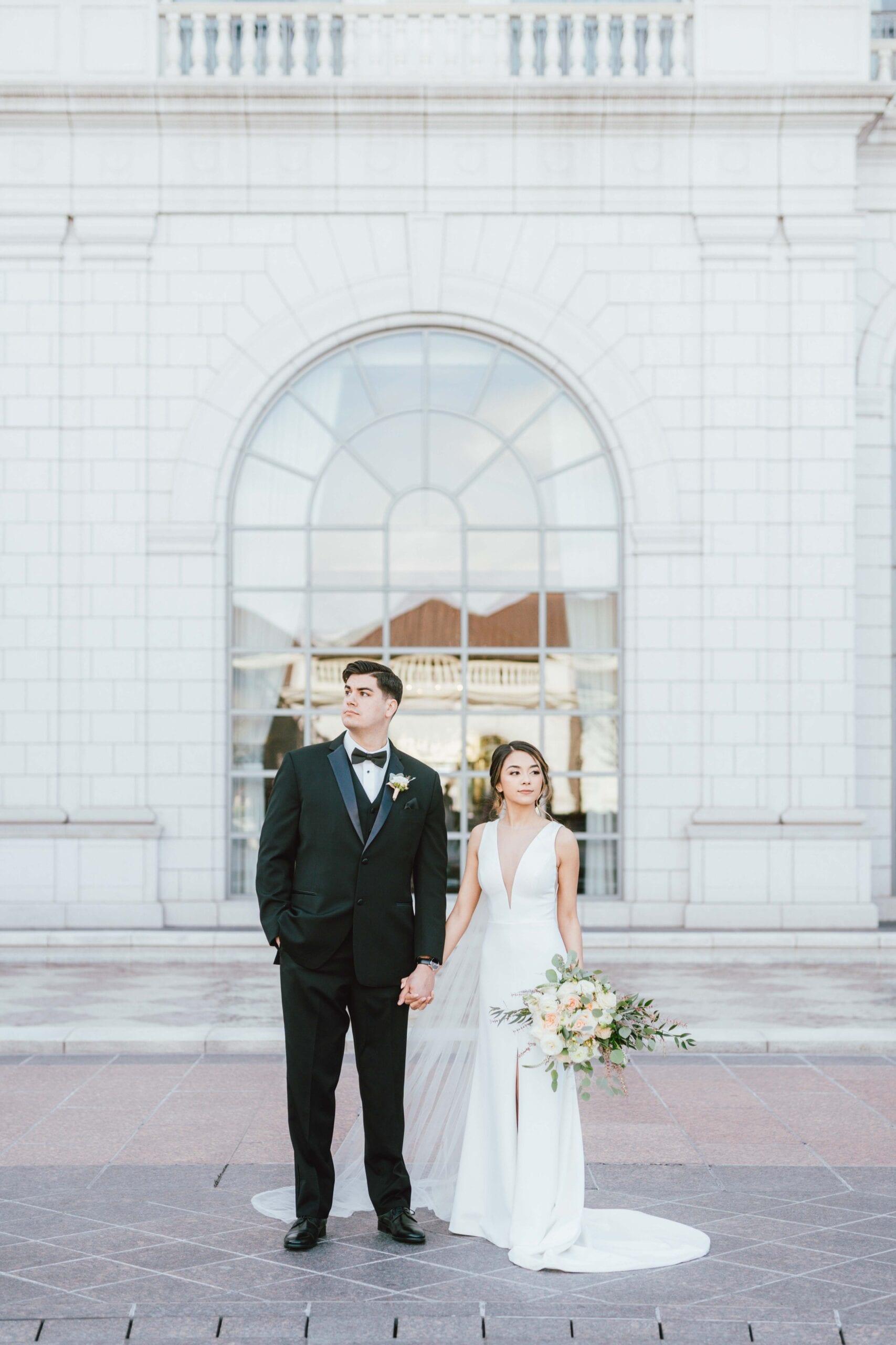 love brittny wedding at grand america hotel picture wide portrait