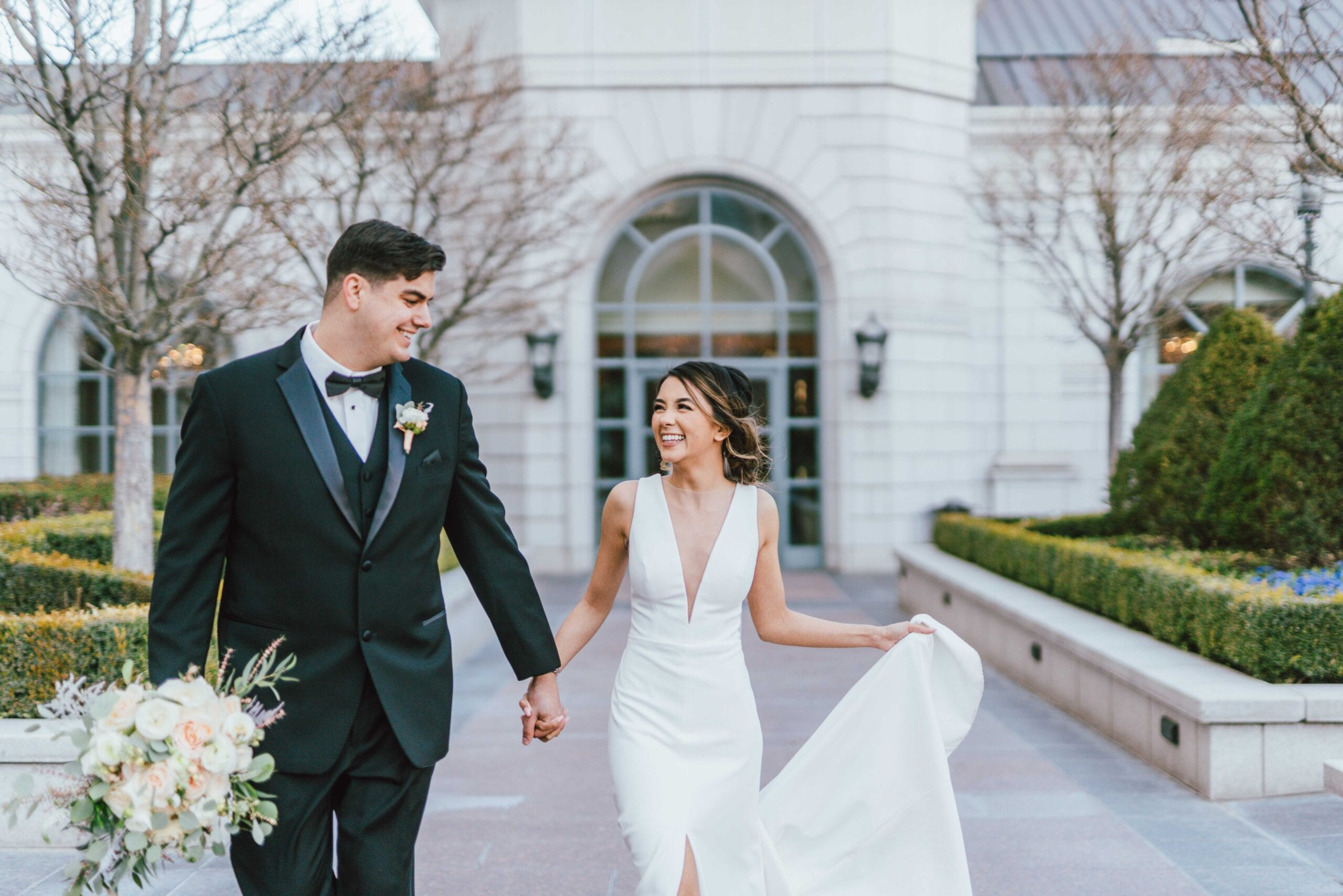 love brittny wedding at grand america hotel picture happy
