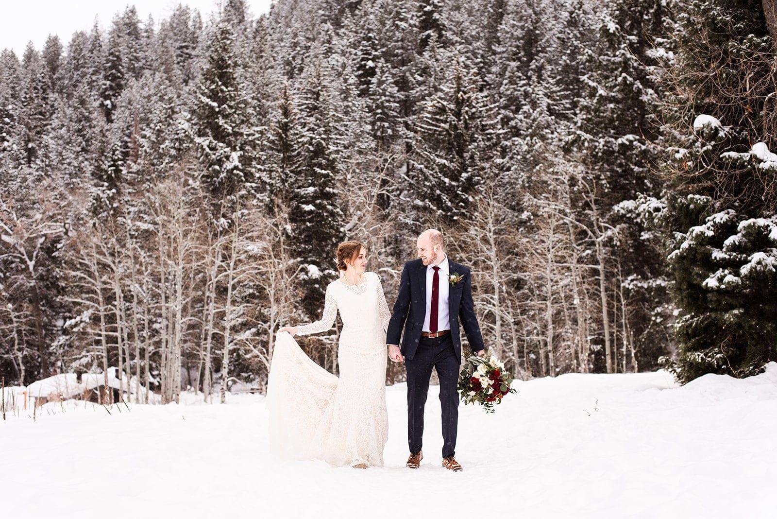 Love Brittny wedding photography aspen grove