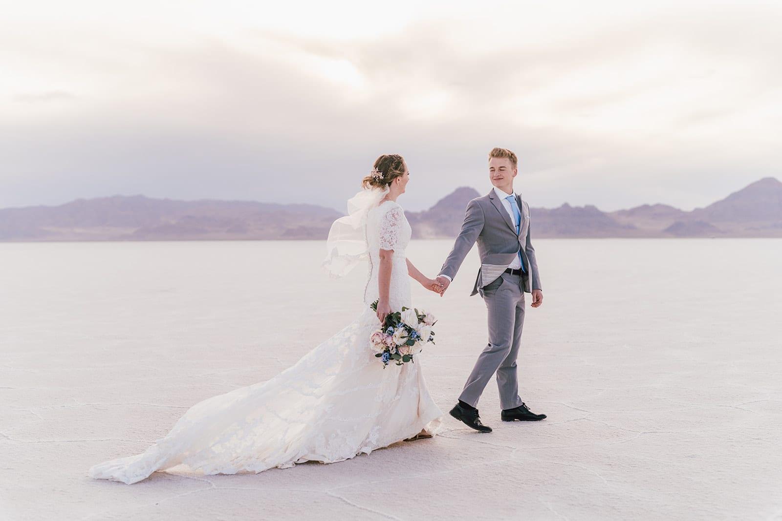 Love Brittny wedding photography salt flats