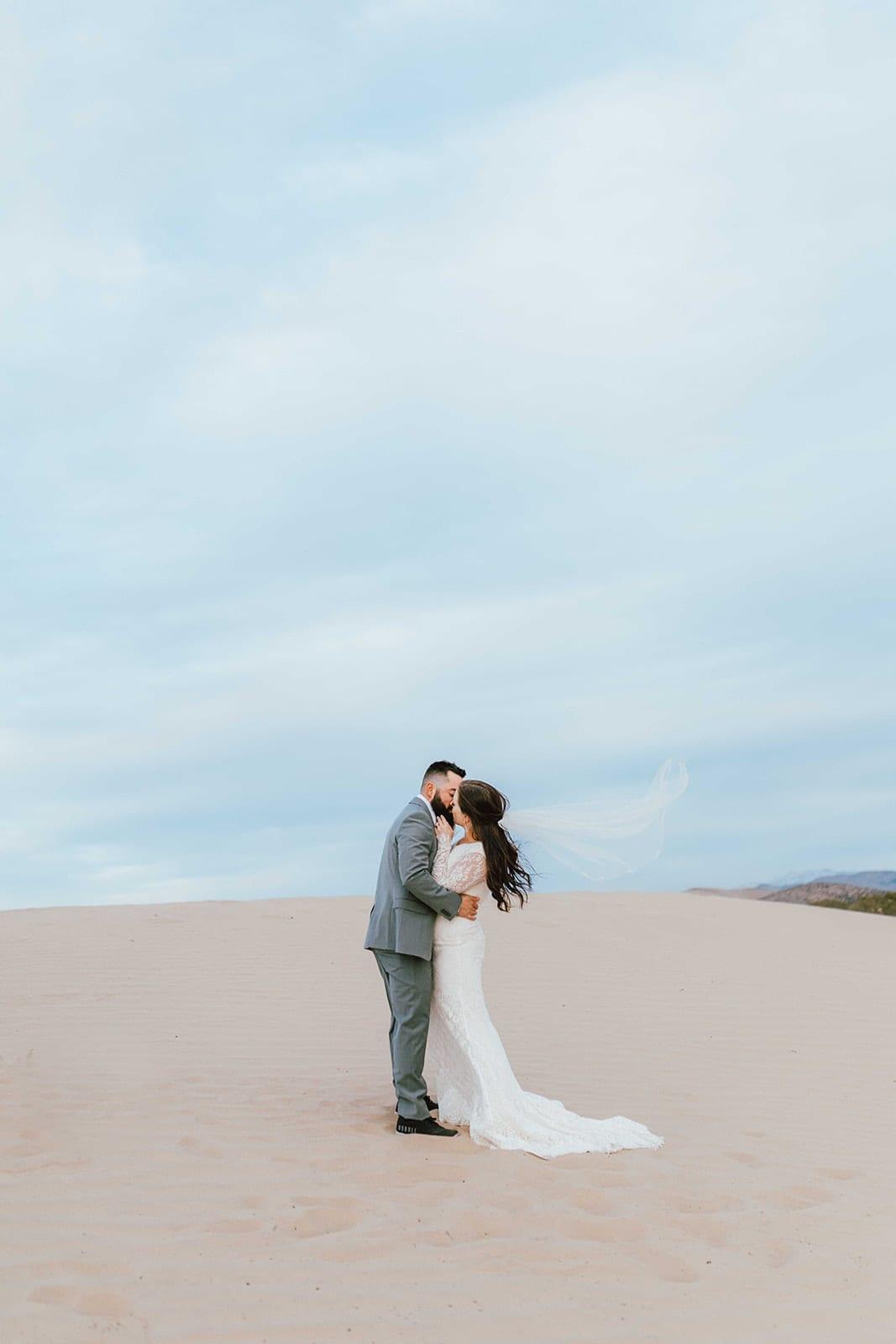 Love Brittny wedding photography sand dunes