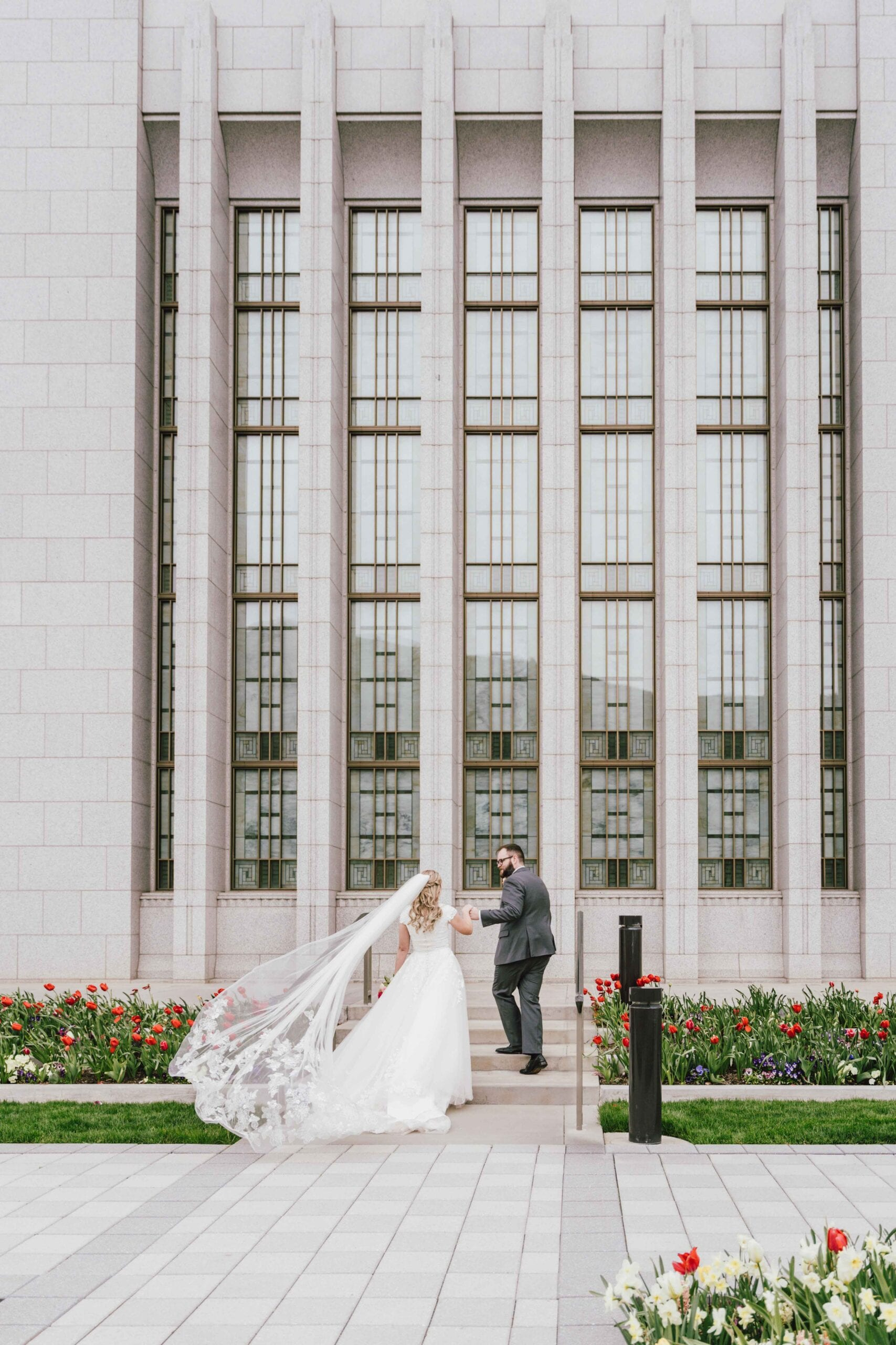 love brittny lds temple wedding veil