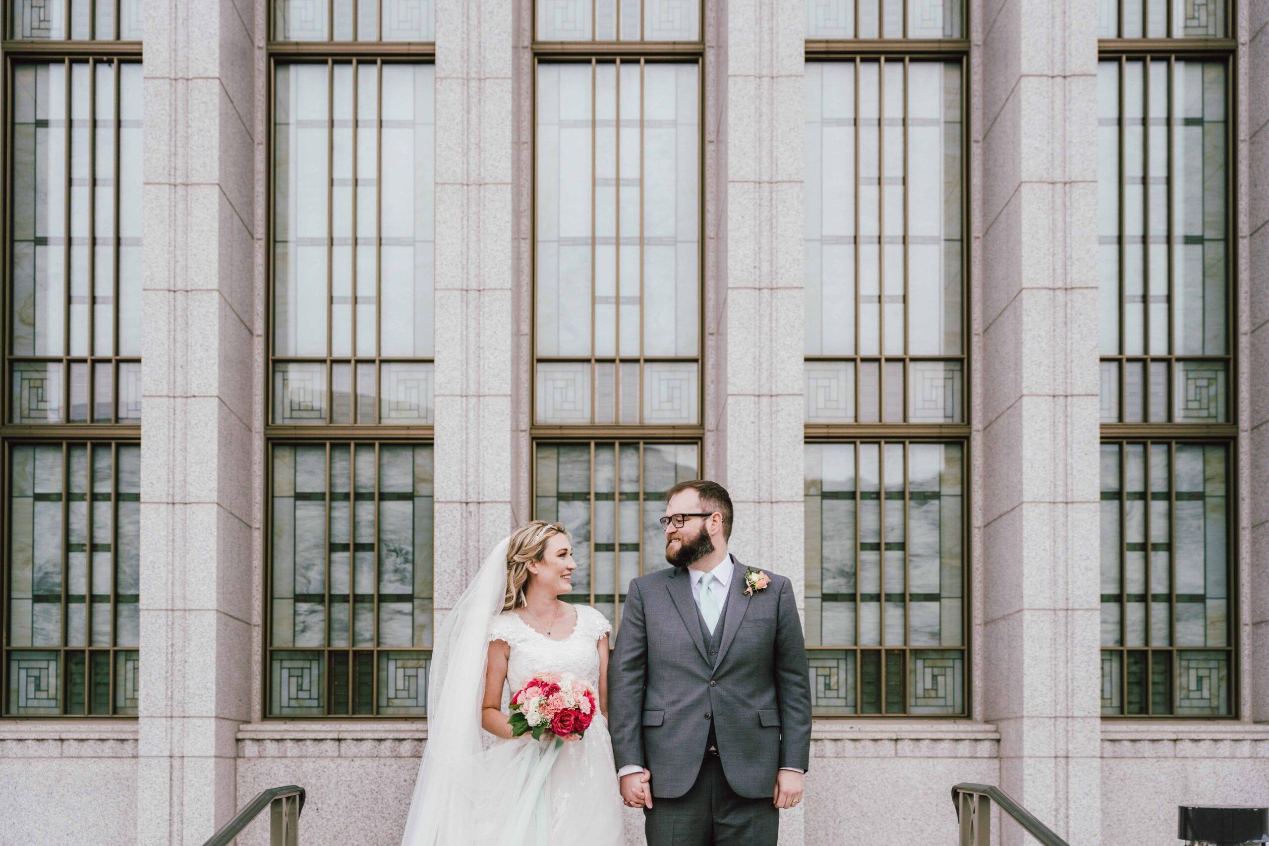 love brittny blog temple wedding image