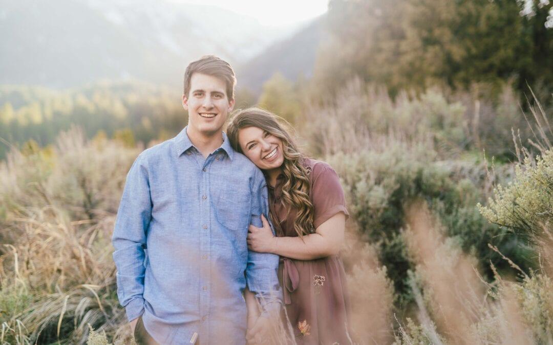 Heather + Matt's Engagement Photos at Tibble Fork Reservoir