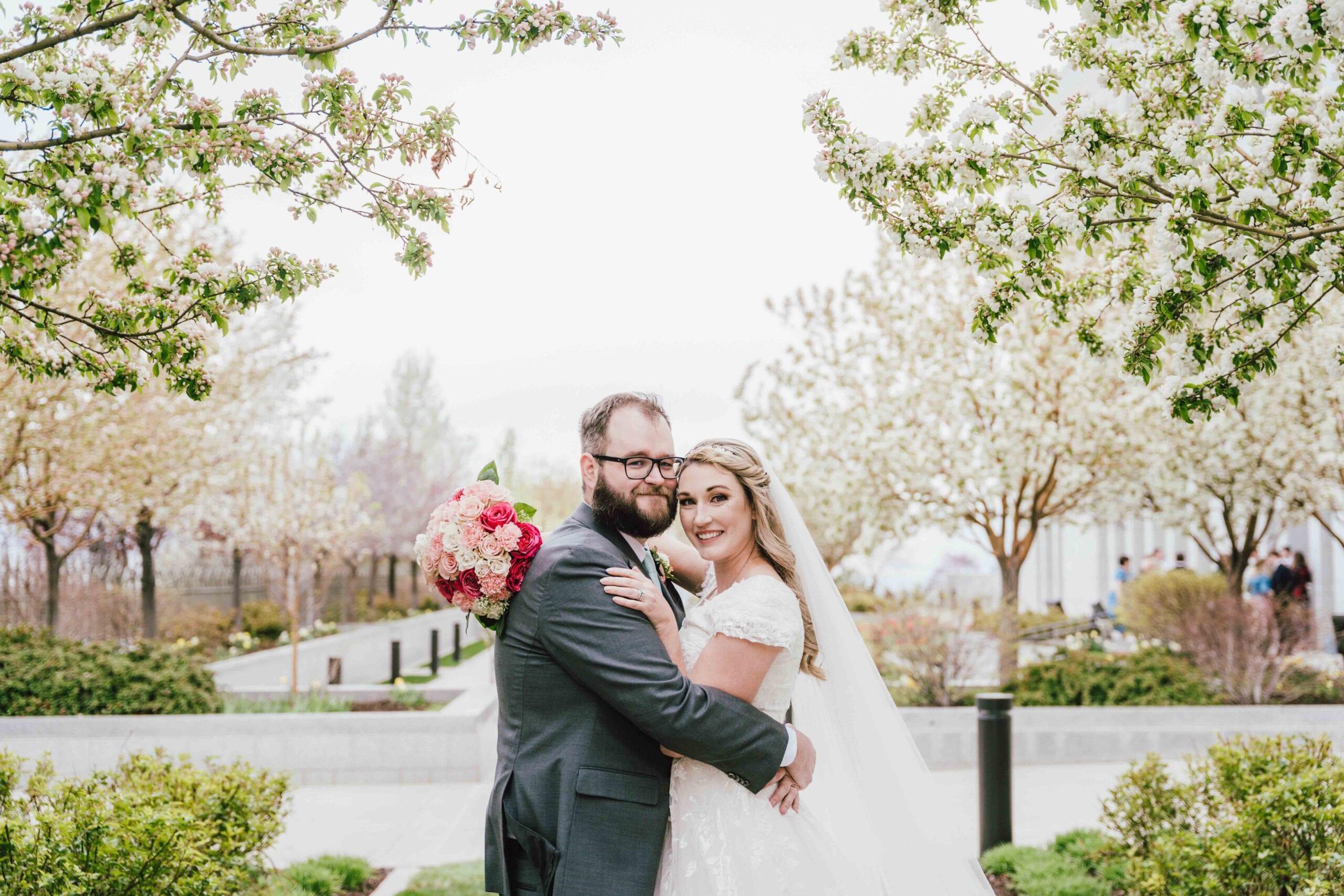 love brittny lds temple wedding bridals