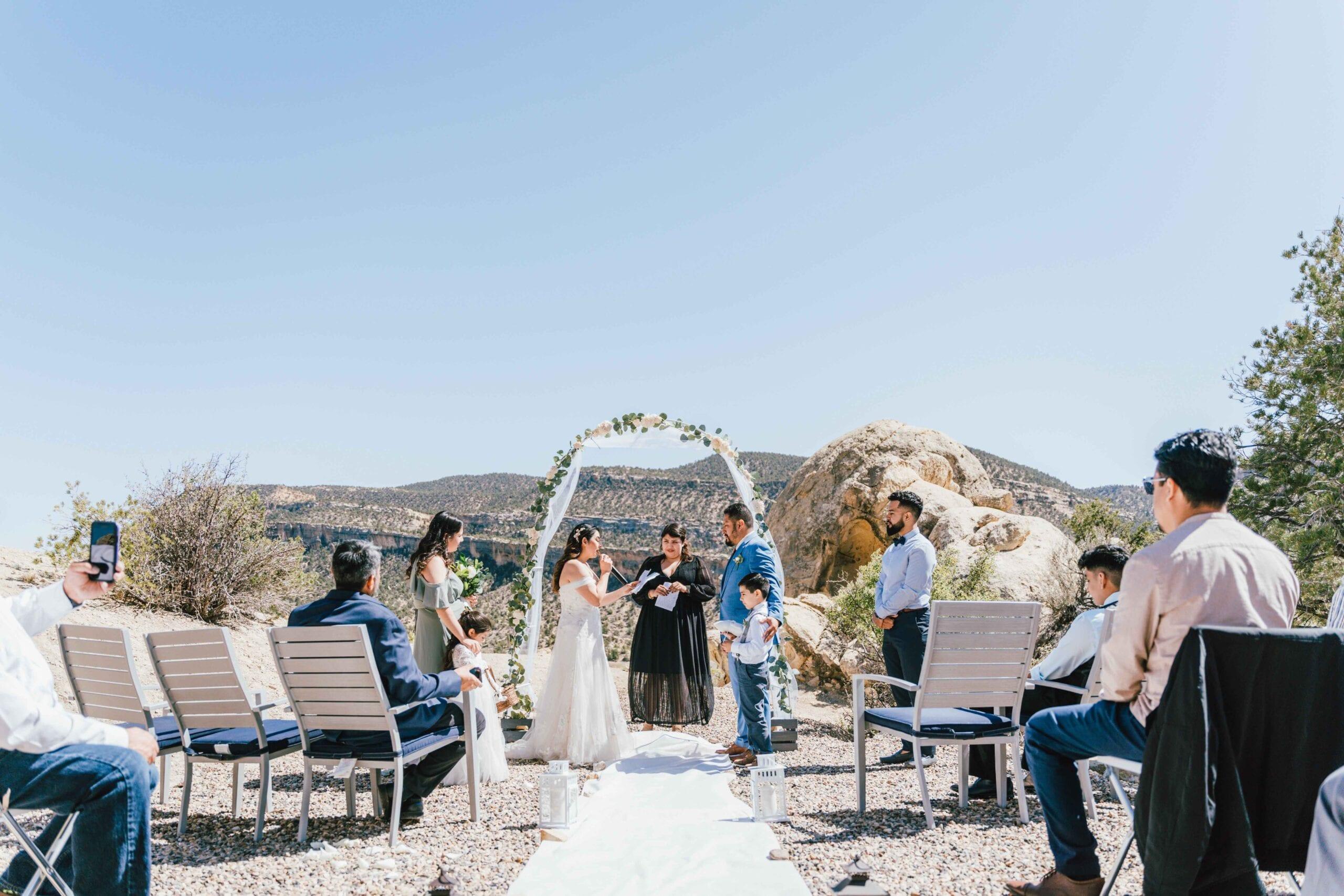 Utah escalante wedding elopement