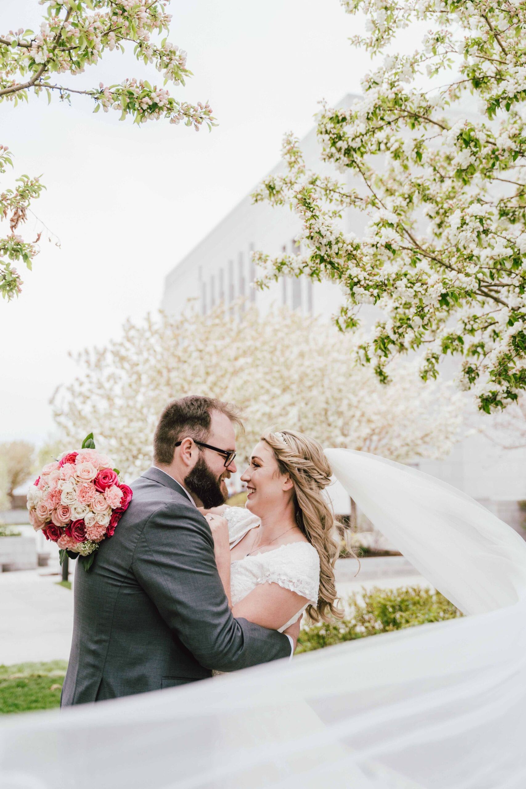love brittny lds temple wedding couples